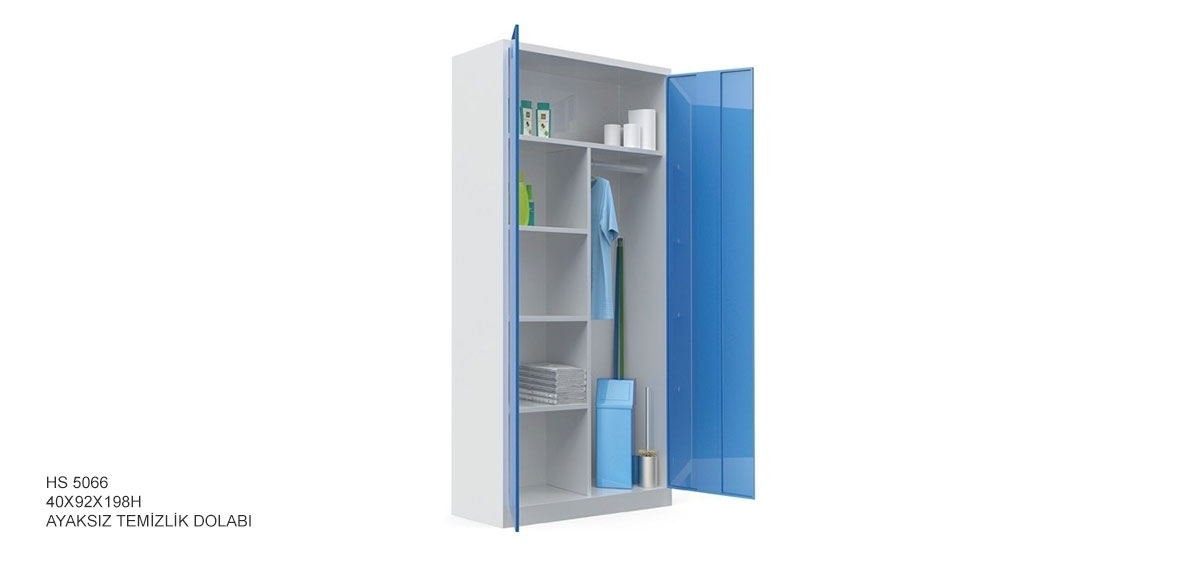 Steel Cleaning Cabinets